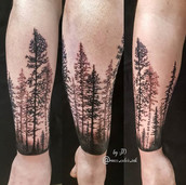 spruce wrap around tattoo