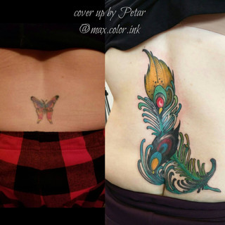 Feather cover up