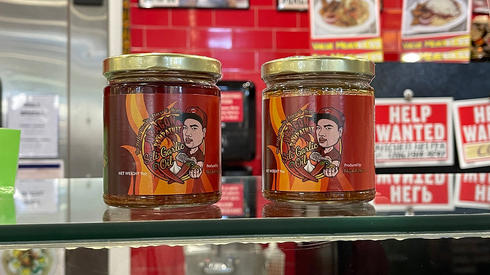 Oragon Sili Garlic Oil
