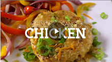 Ginger Orange Chicken Recipe