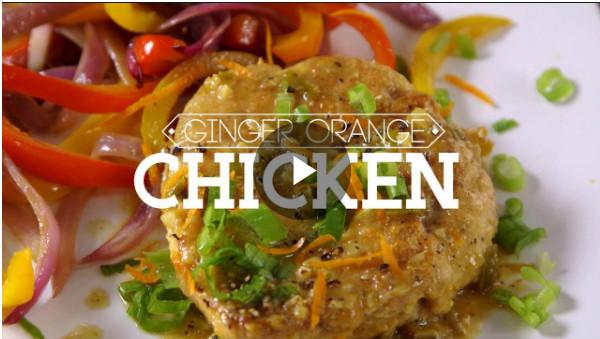 Recipe for Ginger Orange Chicken