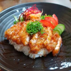 Yama's Teriyaki Chicken Don