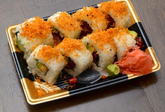 Spicy Sashimi Tuna & Avocado Roll