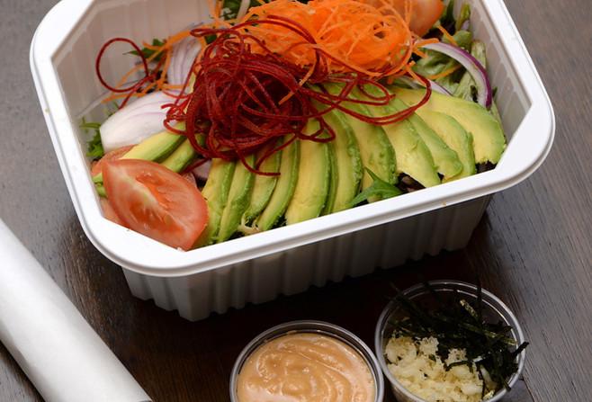 Green Tea Soba Noodle Salad Set