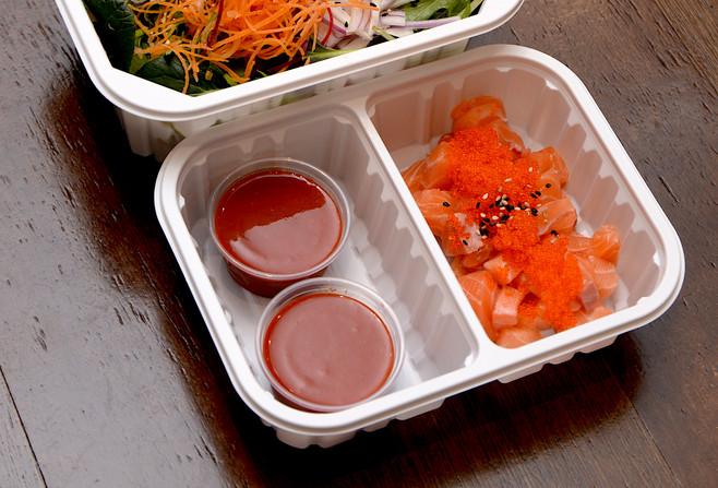 Yama's Salmon Chilli Don Set