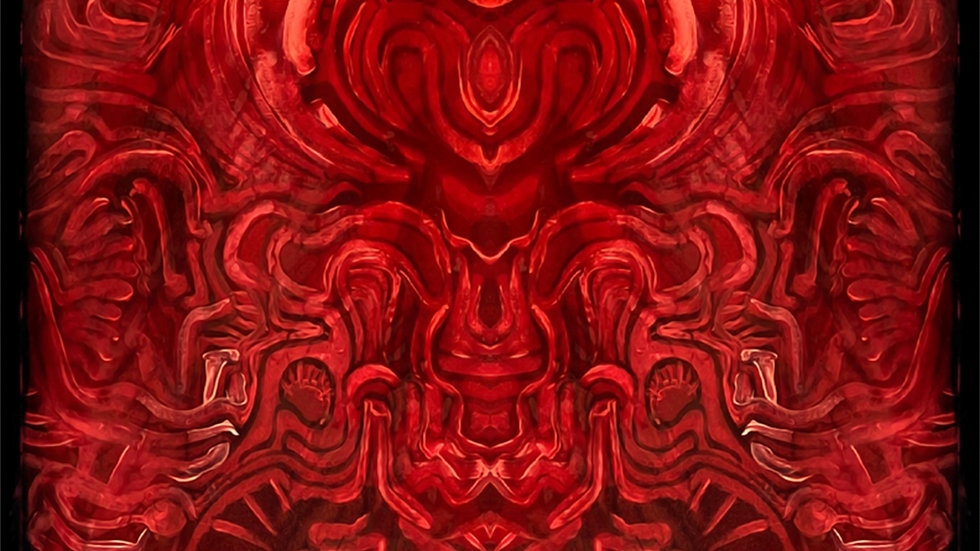 """Manifestation of Love"" 11x17 print"