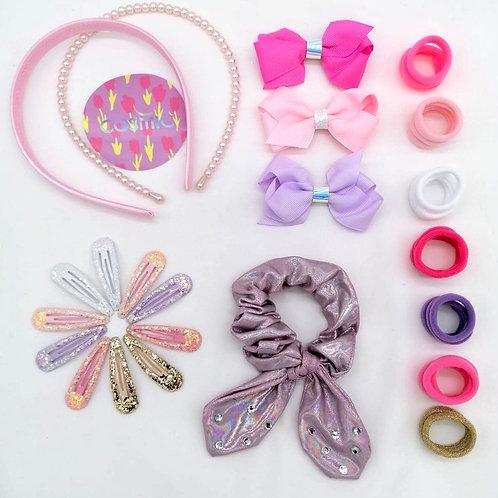 Pastel Bright Glitter Box