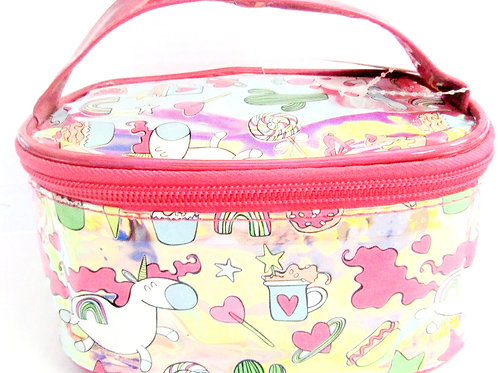 Unicorn Fun Cosmetic Bag