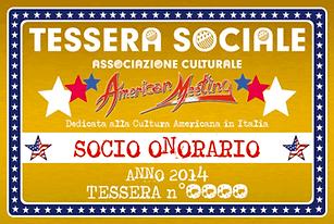 come diventare socio onorario dell'A.C. American Meeting - supporta la promozione della Cultura Americana in Italia