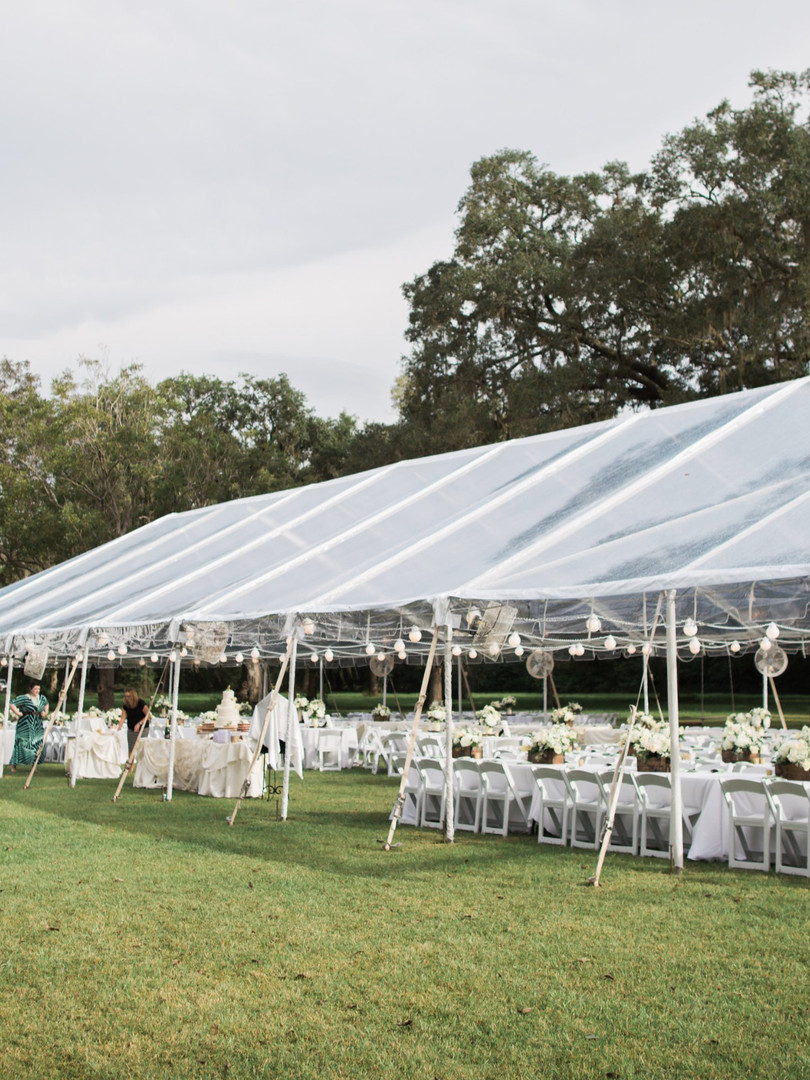40x100 Clear Top Tent
