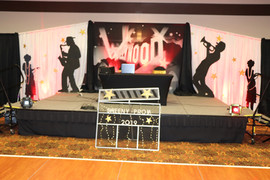 Black Tie Hollywood Prom Theme