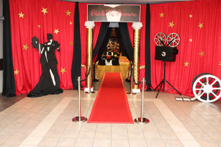 Black Tie Hollywood Prom Theme