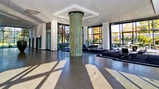 Lightflooded foyer