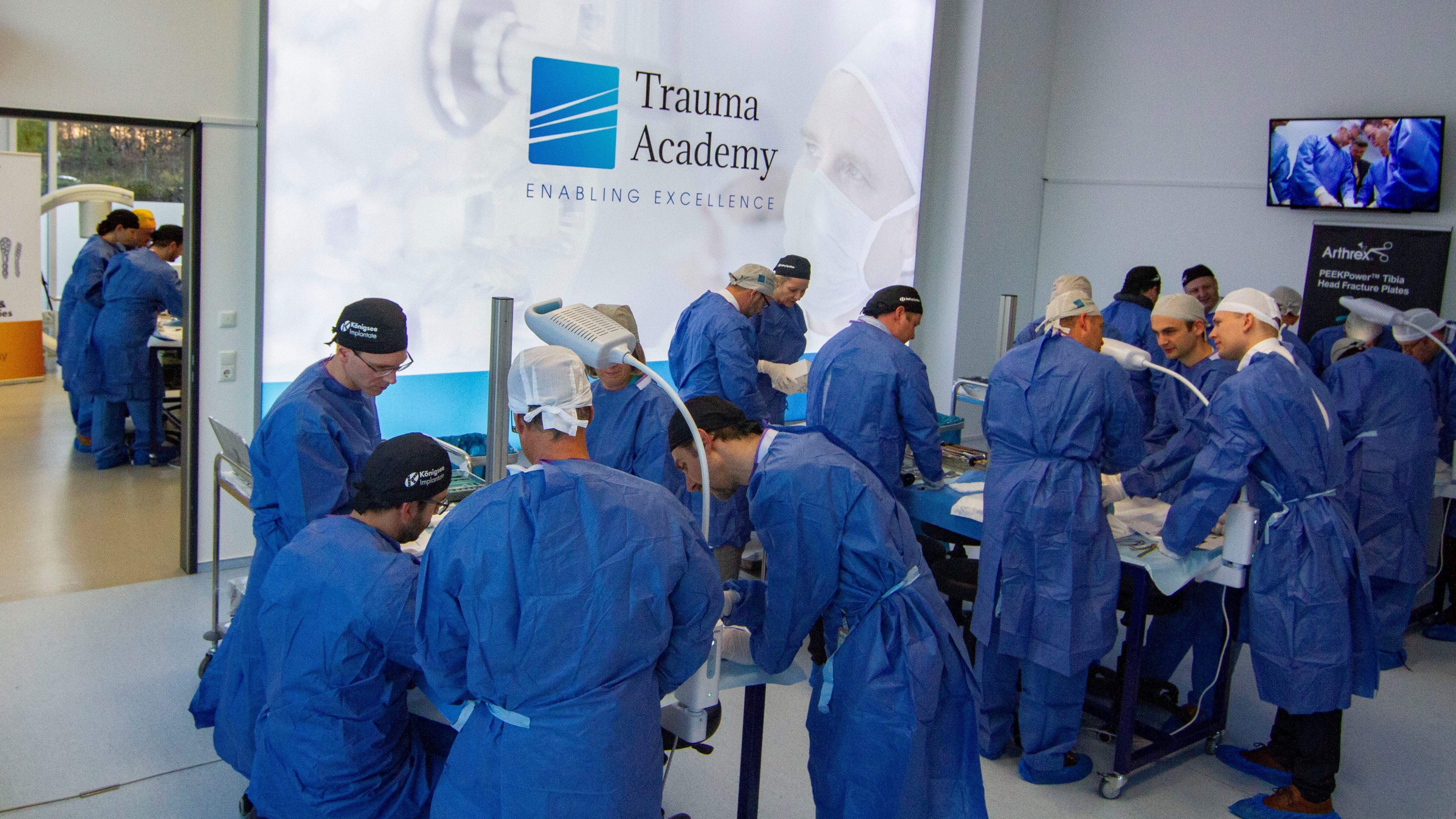 Trauma Academy   DKOU2018   BG Kliniken Pilot Cours