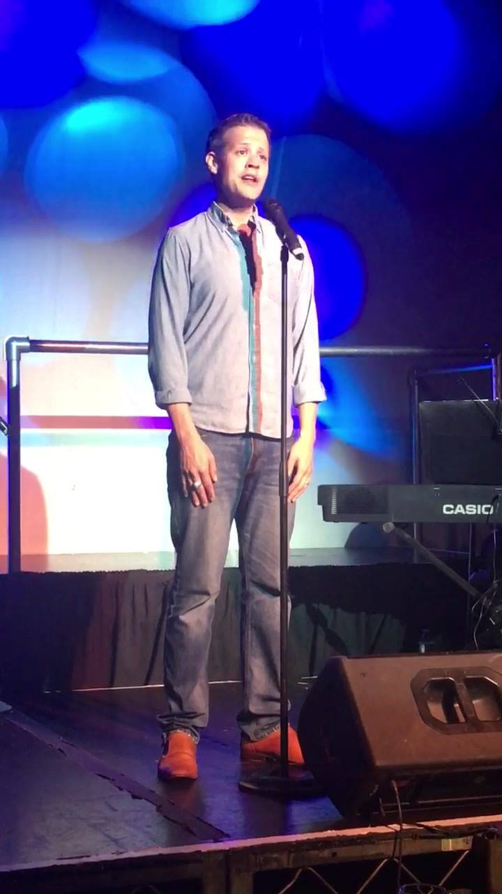 BLAKE JOSEPH  Singing one of my favorites Majestically!
