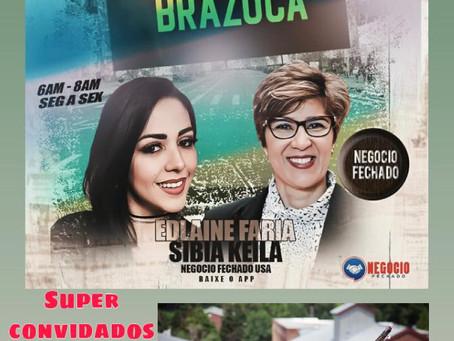 """Os artistas Fernanda Noronha & Peu Pereira estarão no Programa """"Acorda Brazuca"""""""
