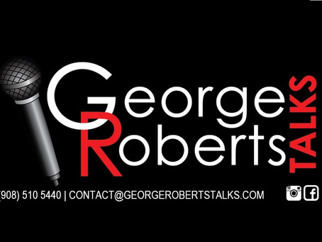 """Produção do tema de abertura do Programa """"George Roberts Talks""""."""