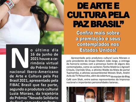 """Confiram a coluna """"No Topo"""" na Revista Cia Brasil Atlanta, edição de Julho de 2021."""