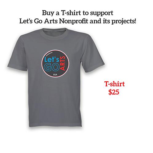 Camiseta Lets Go Arts