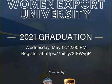 "Fernanda Noronha e Peu Pereira no ""The Women Export University graduation""."