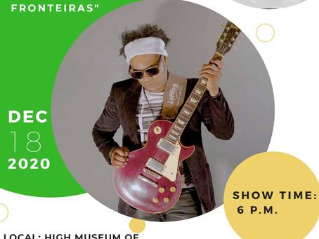 O Artista Peu Pereira se apresentou no dia 18 de Dezembro no High Museum of Arts.