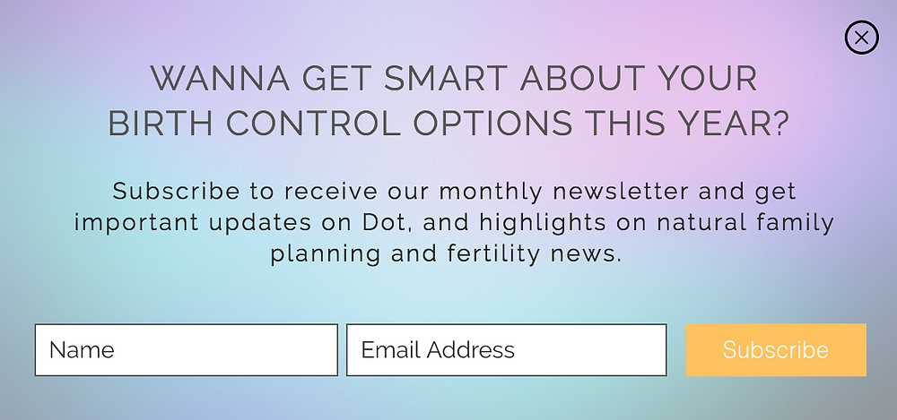Get smart about your birth control options this year.