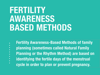 Are Fertility Awareness Based Methods Modern Contraceptives?