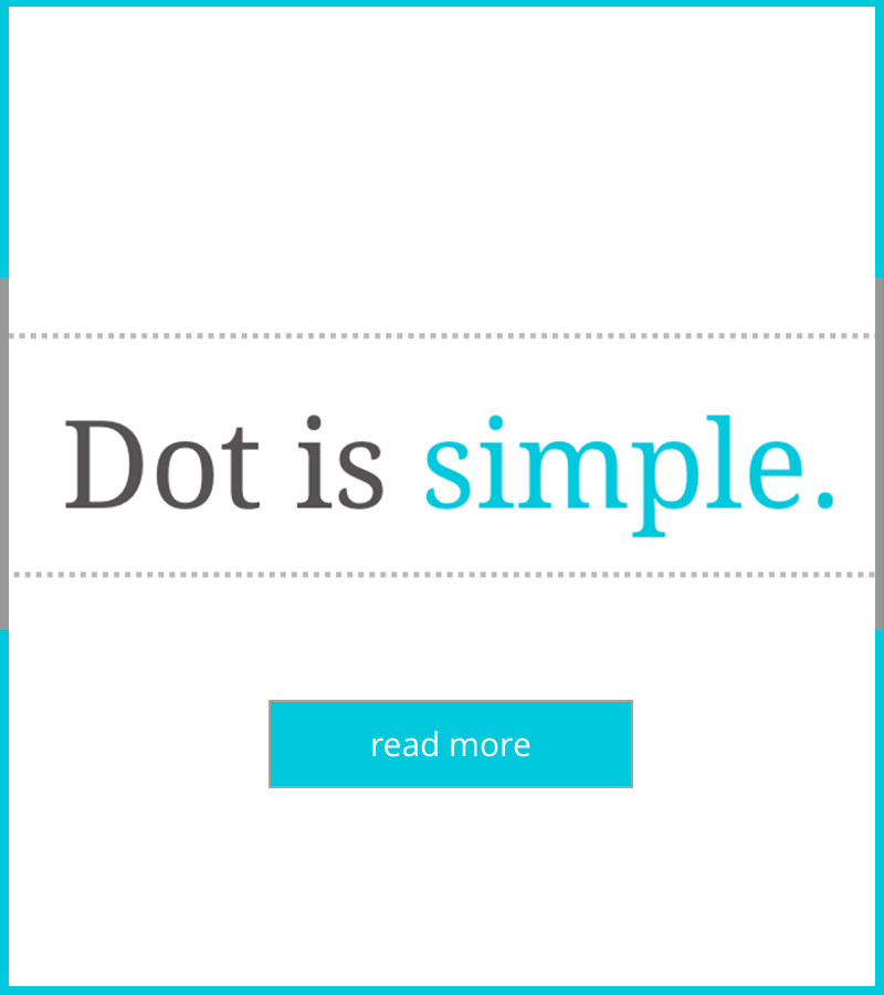 Dot The App dotcom has a new website