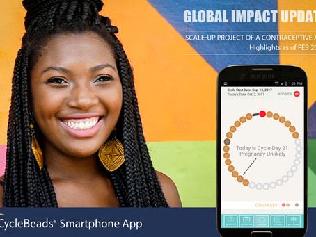 Global Impact Update: CycleBeads Scale-Up Project