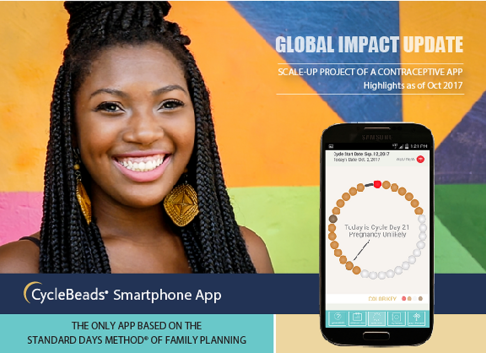 CycleBeads Smartphone App Scale Up Project of a Contraceptive App