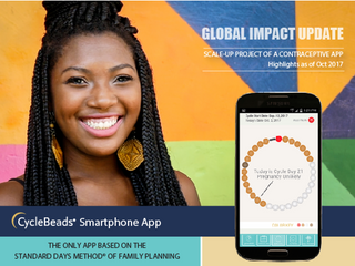 Global Impact Update: Scale Up of a Contraceptive App