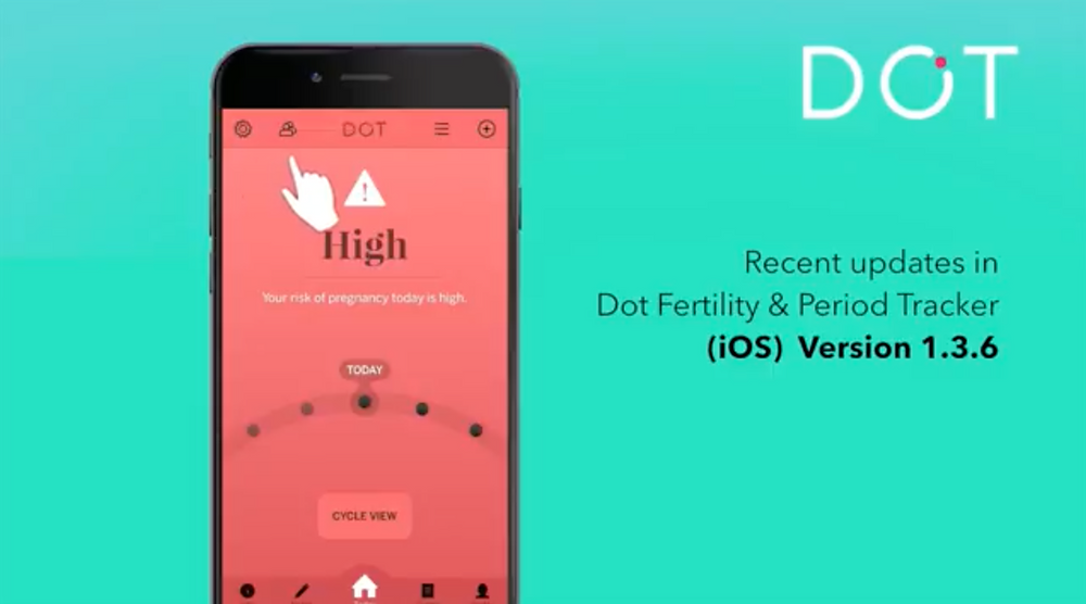 A few updates in Dot Fertility & Period Tracker + How to Enter Period End Dates in the Dot App