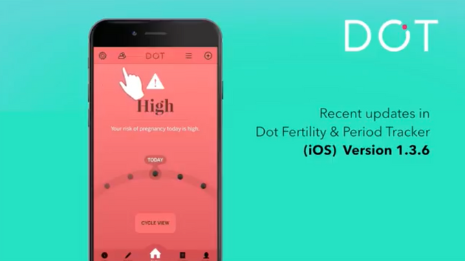 New Updates in Dot Fertility & Period Tracker for iOS