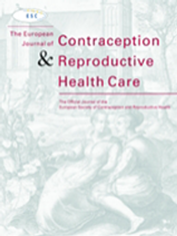 Dot Period Fertility Tracker Published Paper in The European Journal of Contraception & Reproductive Health Care