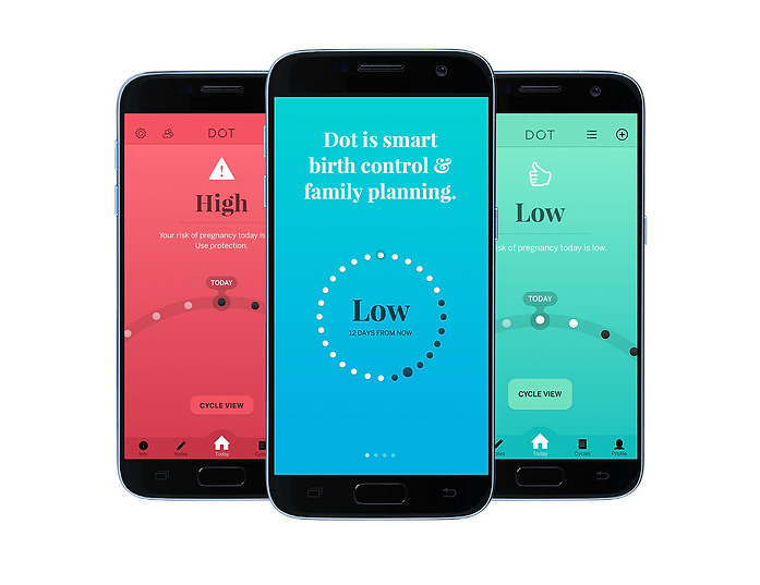 DOT Fertility Tracker | Advanced Period Tracking and Proven