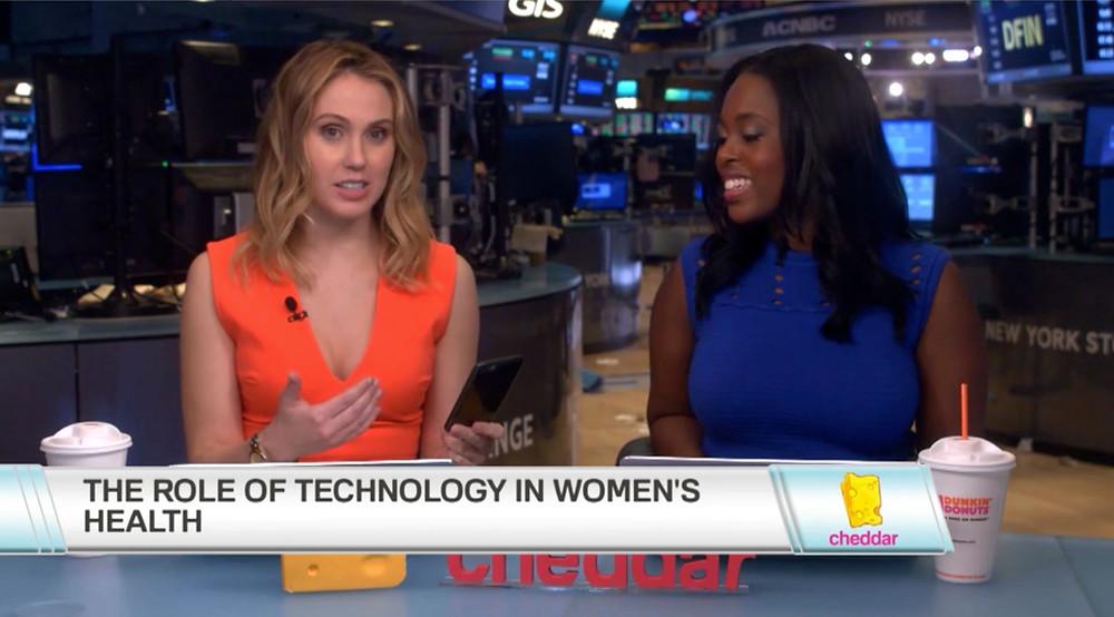 #CheddarLive Hosts Kristen Scholer and Kori Hale Live Interview with Leslie Heyer