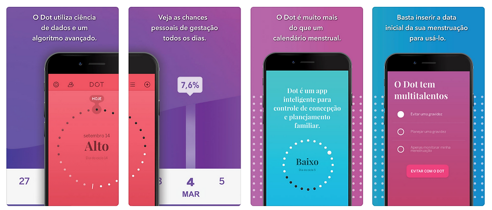 Dot Seguidor de Fertilidad in App Store