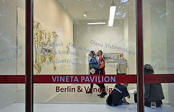 Vineta Pavillion Nr.1 Berlin Galerie Kuc