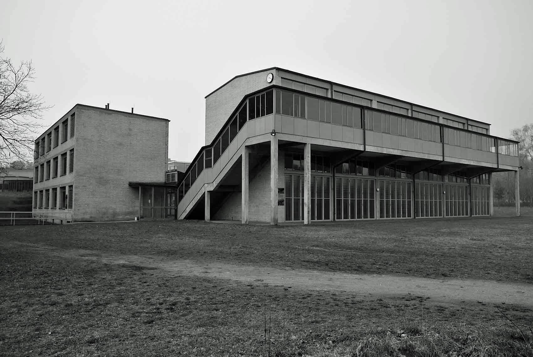 Bauhaus Denkmal Bundesschule Bernau 2014