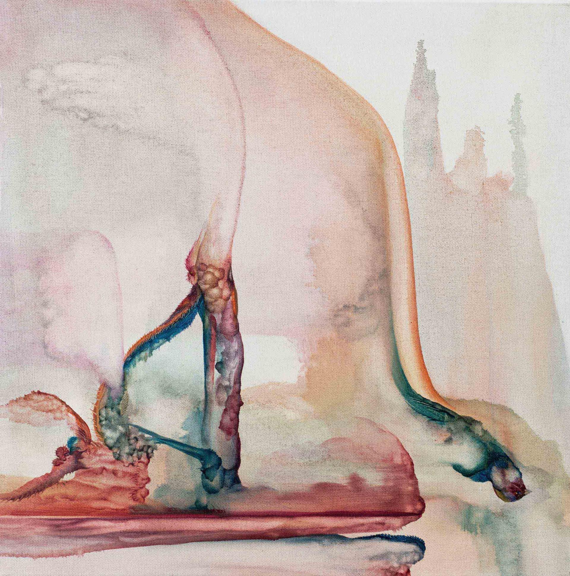 Sibelius 2015 60x60cm Oil on canvas