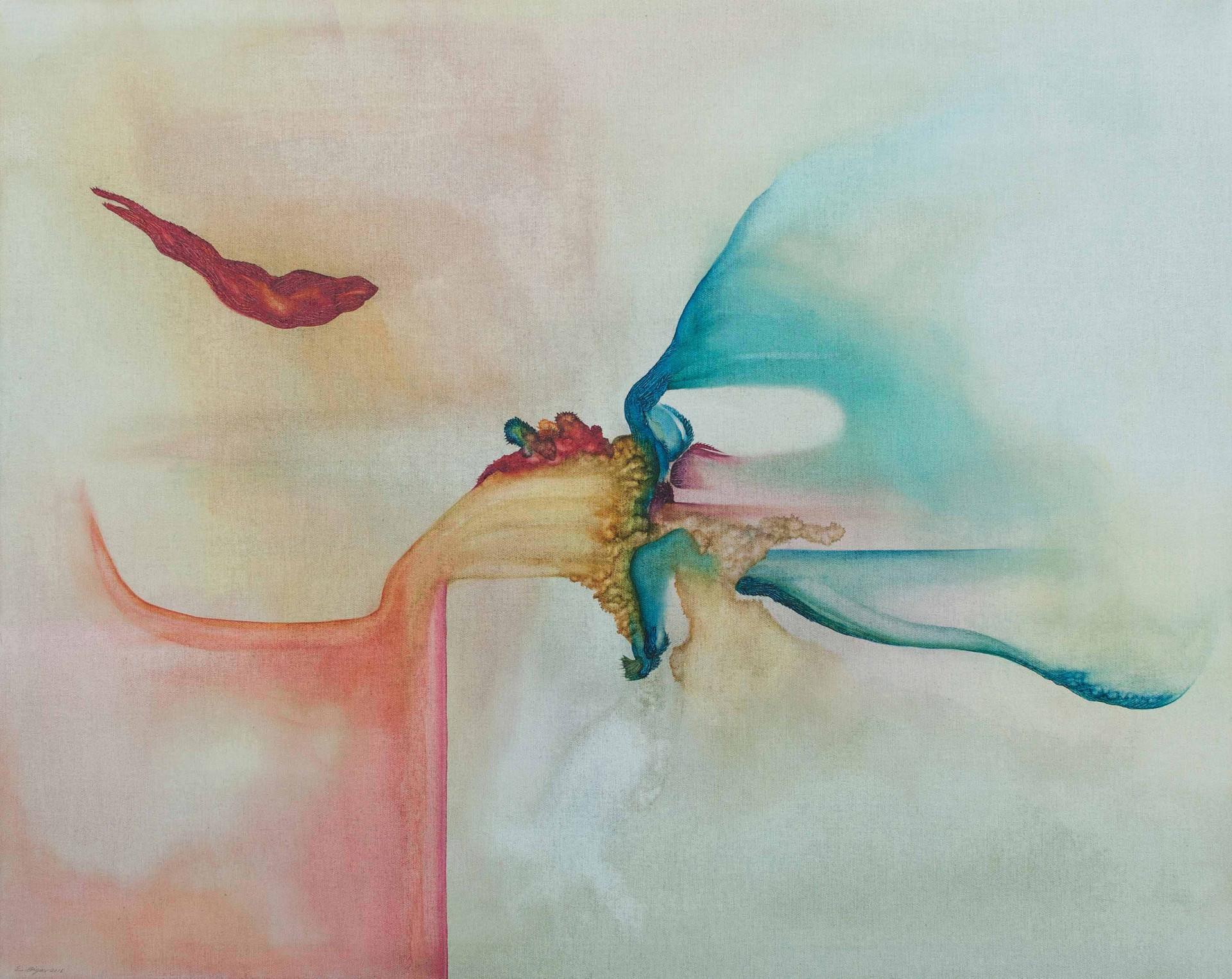 Tapiola 2016 100x80cm Oil on canvas
