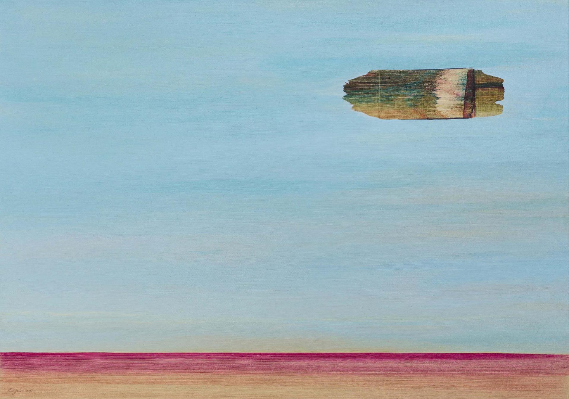 Little Richter 2016 70x50cm. Oil on Canvas