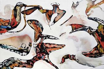 Vital composition 2007 60x90cm Acrylic a