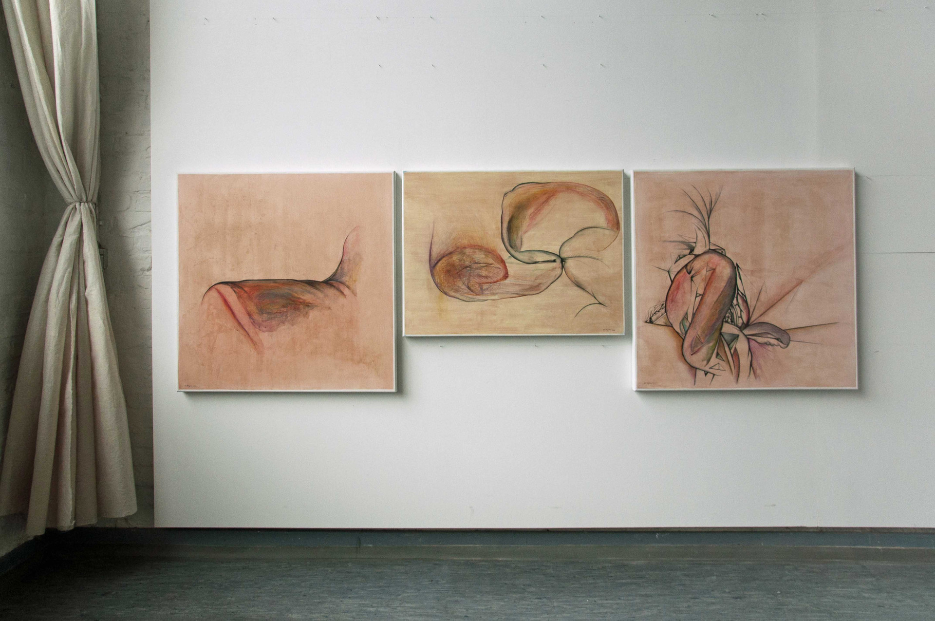 Triptych Continuous present