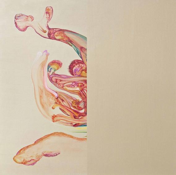 Diptych 2017 80x80cm Oil on canvas