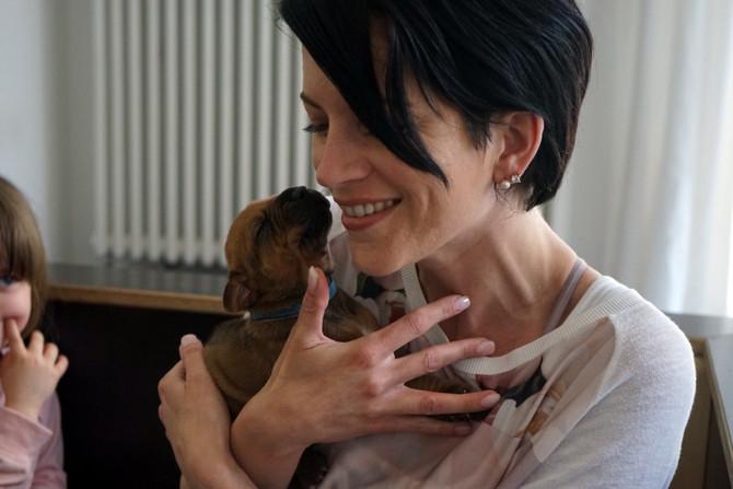 Shahruk & Lela - wir haben die Welpen besucht - we visited the puppies