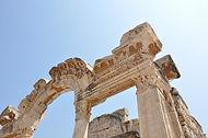 Ancient stone archway, Ephesus, Izmir Province, near Sirince Terrace Houses