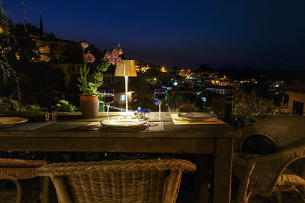 The Terrace Cafe, Sirince Terrace Houses, Boutique holiday cottages,Sirince, Izmir Province, near Ephesus, Turkey
