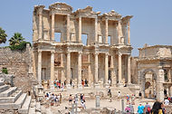 The Library of Celsus, Ephesus, Izmir Province, 15 minutes from Sirince Terrace Houses, Turkey, Agean