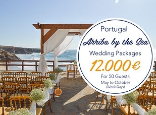 Arriba low cost wedding packge - May to